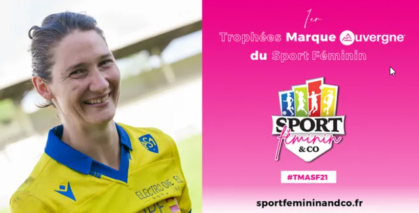 Trophées Marque Auvergne du Sport Féminin